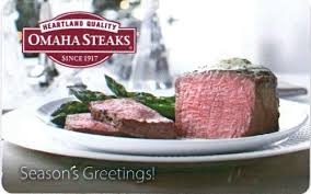 omaha steaks gift card omaha steaks gift card 50 gift card alley