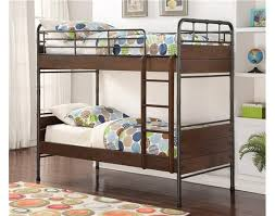 Wood And Metal Bunk Beds Woodcrest Pine Ridge Metal And Wood Bunk Bed Mw