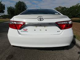 toyota camry trunk 2017 used toyota camry se automatic at central florida toyota