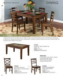 Sunny Design Furniture Prices U2022 Sunny Designs Savannah Dining Furniture U2022 Al U0027s Woodcraft