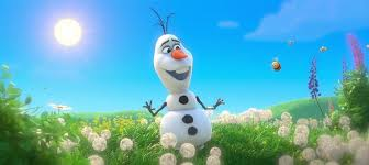 frozen olaf snowman music video summer
