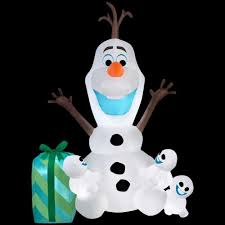 home depot inflatable outdoor christmas decorations home depot 75 off christmas decor and more slickdeals net