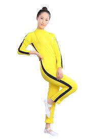 bruce yellow jumpsuit amazon com zooboo adults one jumpsuit costume
