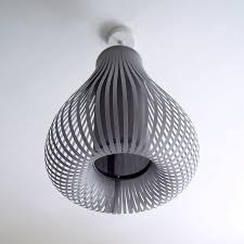 Pendant Light Shades Grey Balloon Pendant Light Shade By Lilly Notonthehighstreet