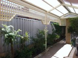 Privacy Screens For Patio by Decorating Immaculate Lowes Lattice Privacy Screen In White Wood