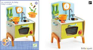 djeco cuisine la cuisinière de gaby jouet d imitation en bois djeco djeco