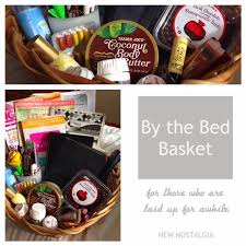 Cancer Gift Baskets A By The Bed Basket A Great Gift Idea For Someone Who Is Sick