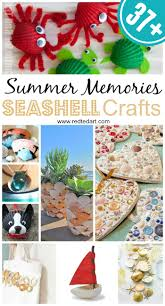 37 sea shell craft ideas red ted art u0027s blog