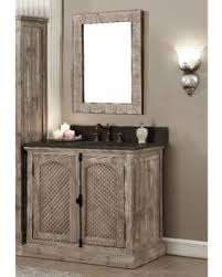 36 In Bathroom Vanity With Top by Deal Alert Infurniture Rustic Style 36 Inch Single Sink Driftwood