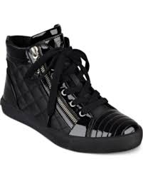 g womens boots sale slash prices on g by guess orily quilted high top sneakers s
