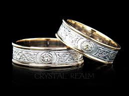 celtic rings bands images Ardagh celtic shield band with 5 point diamond 14k white and 14k jpg