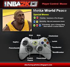 Metta World Peace Meme - nba2k13 player control moves special metta world peace ron artest
