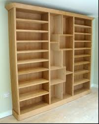 Skinny Tall Bookshelf 15 Inspirations Of Oak Bookshelves