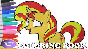 mlp sunset shimmer coloring book pages my little pony sunset