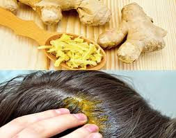 beurre de cuisine cheveux masque capillaire au gingembre pour fortifier et pousser les
