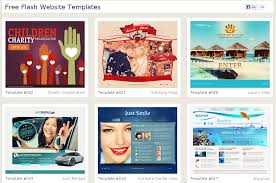 40 free high quality flash templates