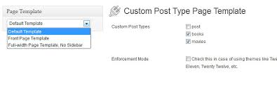 custom post type page template u2014 wordpress plugins