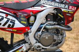 tested 2015 honda crf450r yoshimura project bike motocross