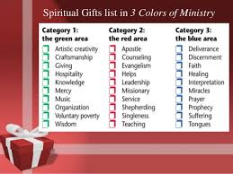 spiritual gifts presentation