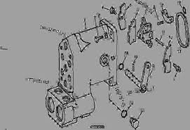 selective control valve housing rocker and operating cams 04f24