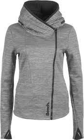 compact w jacket grey heather