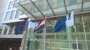 Capture The Flag Flags File Dutch National And Government Flags And Eu Flag In The Hague