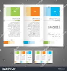 Plain Brochure Template by Brochure Template Software Us