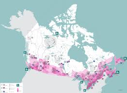 Population Density Map Of Canada by Canadian Infrastructural Futures Futur D U0027infrastructure Canadien