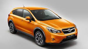 orange subaru crosstrek subaru xv auto review