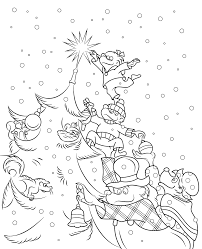 100 berenstain bears christmas tree coloring page christmas