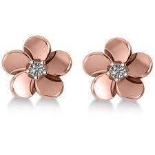 flower stud earrings best 25 flower stud ideas on handmade jewellery wire