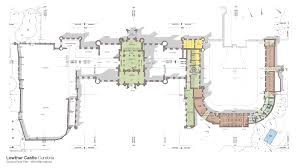 Castle Floor Plan by Lowther Castle Work Fcbstudios