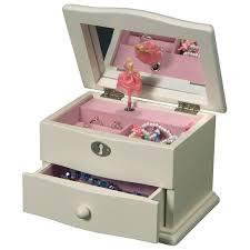 personalized ballerina jewelry box mele co clarice musical ballerina jewelry box