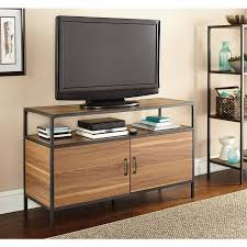 walmart tv table stand mainstays metro tv stand for tvs up to 50 multiple finishes