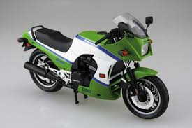 aoshima motorcycle plastic model kawasaki gpz 900 r ninja a 2