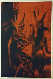 baphomet forest girl satanic worship poster full size 35 zoom