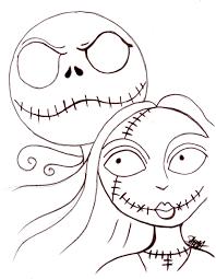 halloween line drawings sally halloween drawings u2013 halloween wizard