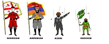 Georgian Flag Caucasus In Nutshell 4chan Flag Bearers Know Your Meme