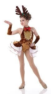 Dancer Costumes Halloween Rockin Reindeer Christmas Dance Costume Antlers Ballet Halloween