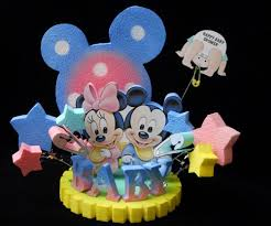 baby mickey baby shower baby shower mickey and minnie mouse cake topper centerpiece
