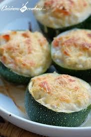 cuisiner des courgettes rondes courgettes rondes farcies au saumon fumé et au fromage frais