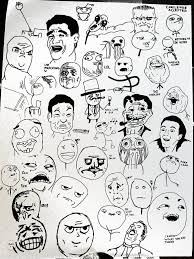 Meme Face Collection - my meme collection by artof nothing on deviantart
