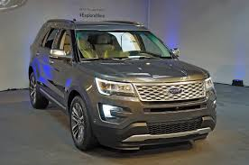 Ford Explorer Ecoboost - fourtitude com 2016 ford explorer revealed with new 2 3 liter