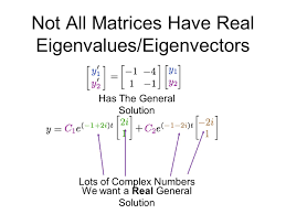 complex eigenvalues and phase portraits fundamental set of