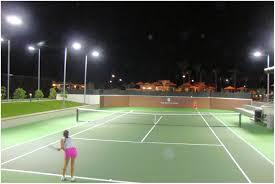 backyards compact tennis court painting repair 42 backyard