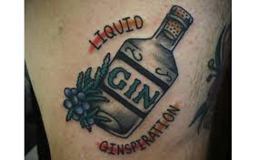these gin inspired tattoos are unbelievable u2014 craft gin club