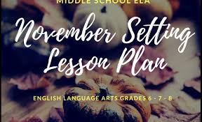 thanksgiving day lesson plan middle school