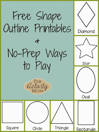 the activity mom shape activities for toddlers printable