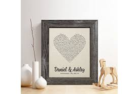 cotton anniversary gifts for personalized 2nd cotton anniversary gift for him or