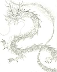dragon pencil drawing by go a green a on deviantart